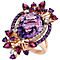 Le Vian 14ct Strawberry Gold Cotton Candy Amethyst Ring - Product number 4684508
