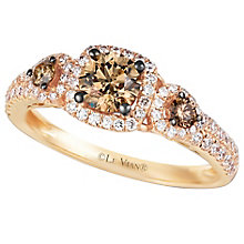 Le Vian 14ct Strawberry Gold Chocolate Diamond Ring - Product number 4685989