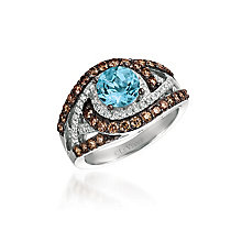 Le Vian 14ct Vanilla Gold Aquamarine Ring - Product number 4699564