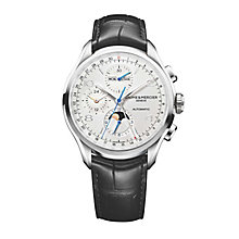 Baume & Mercier Clifton Men's Stainless Steel Strap Watch - Product number 4700023