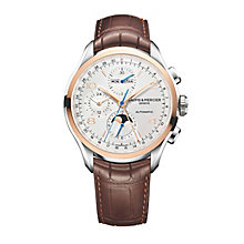 Baume & Mercier Clifton Men's Two Colour Strap Watch - Product number 4700031