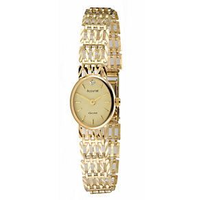 Accurist Ladies' 9ct Gold Watch - Product number 4705955
