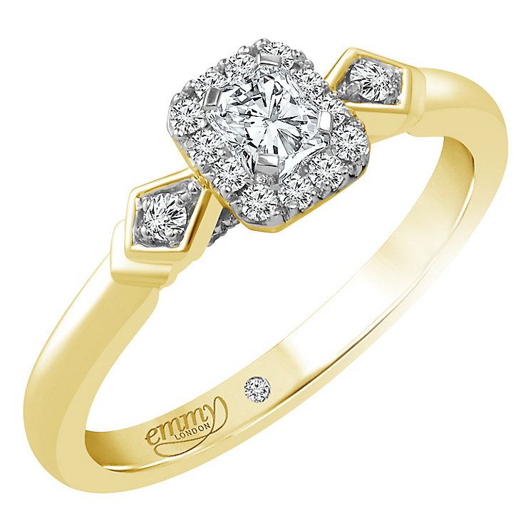 Emmy London Ring Gold