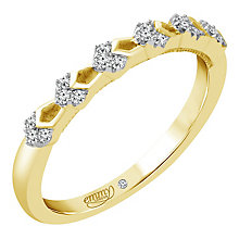 Emmy London 9ct Gold Diamond Set Ring - Product number 4711742