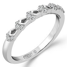 Emmy London 18ct White Gold Diamond Set Ring - Product number 4712005
