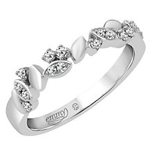 Emmy London Platinum 1/10 Carat Diamond Set Ring - Product number 4712935