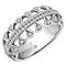 Emmy London 18ct White Gold 1/4 Carat Diamond Set Ring - Product number 4714245