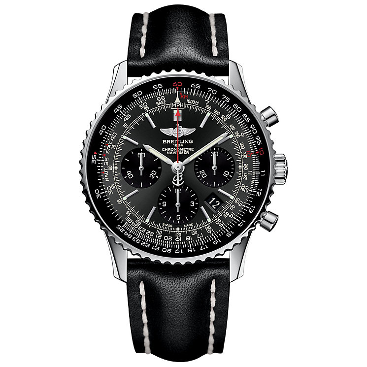Breitling Navitimer 01 Men's  Chronograph Strap Watch - Product number 4716876