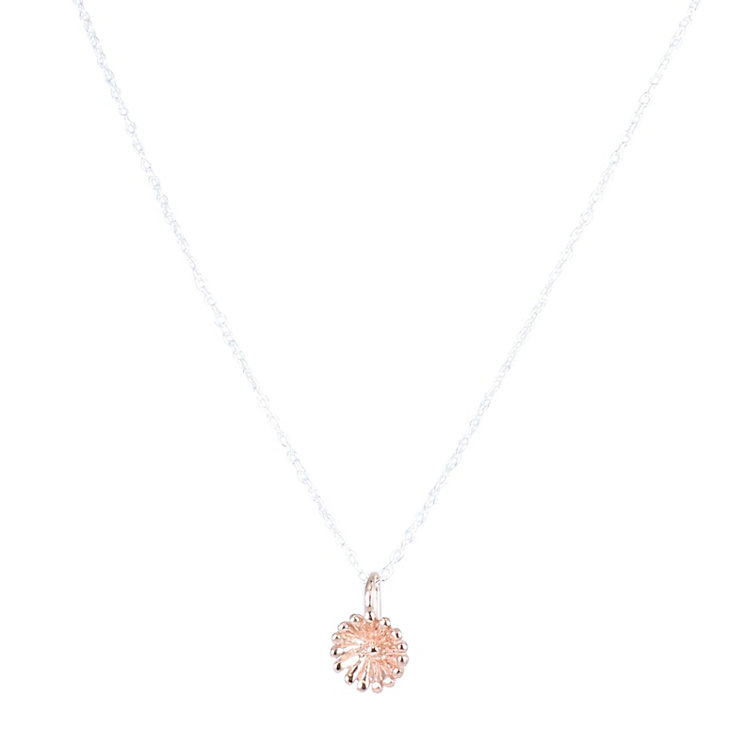 Acorn to Oak  Rose Gold-Plated Dainty Flower Pendant - Product number 4717732