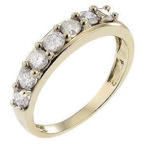 18ct Gold 3/4 Carat Diamond Eternity Ring