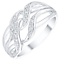 Sterling Silver Diamond Eternity Ring - Product number 4726170