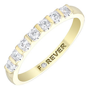 The Forever Diamond 18ct Gold 0.28 Carat Diamond Ring - Product number 4726987