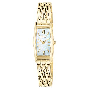 Citizen Eco-Drive ladies' gold-plated bracelet watch - Product number 4729730
