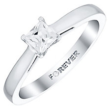 18ct White Gold 1/3 Carat Forever Diamond Ring - Product number 4732820