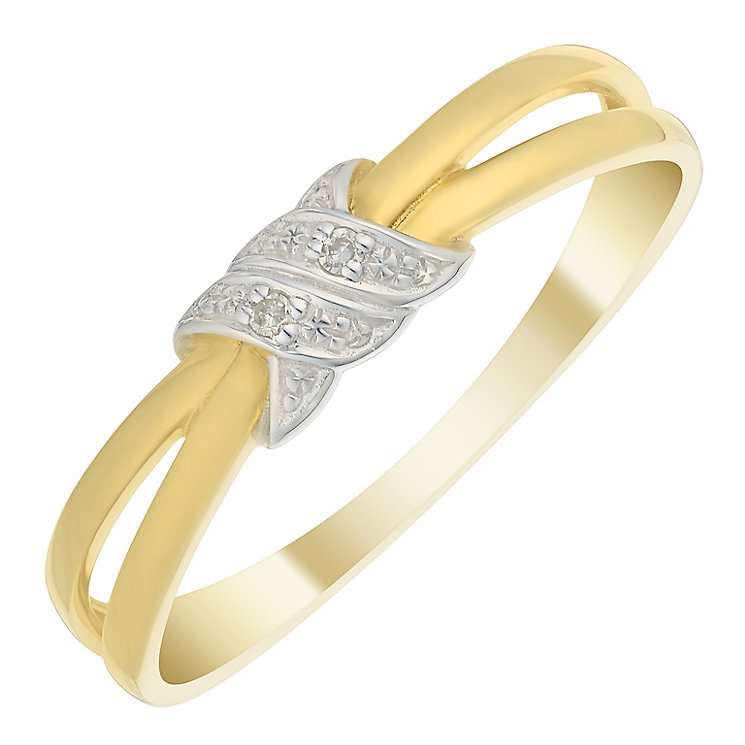 9ct Gold Diamond Eternity Ring - Product number 4733843