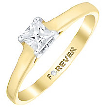 The Forever Diamond 9ct Gold Diamond Solitaire Ring - Product number 4733975