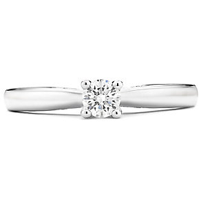 Tolkowsky 14ct White Gold 1/5 Carat Diamond Solitaire Ring - Product number 4748239