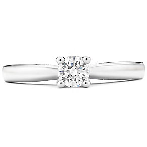 Tolkowsky 14ct White Gold 0.40 Carat Diamond Solitaire Ring - Product number 4750950