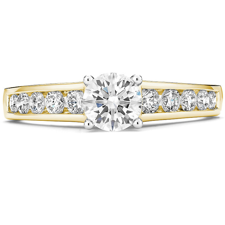 Tolkowsky 14ct Yellow Gold 1 Carat Diamond Solitaire Ring - Product number 4752414