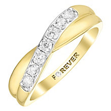 The Forever Diamond 18ct Gold 0.28 Carat Diamond Ring - Product number 4754611