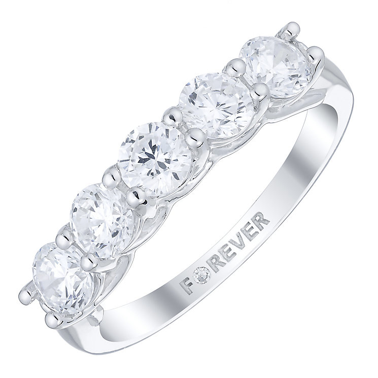 18ct White Gold 1.15 Carat Forever Diamond Ring - Product number 4754891