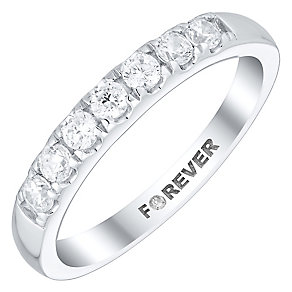 The Forever Diamond Platinum 1/3 Carat Diamond Eternity Ring - Product number 4755200