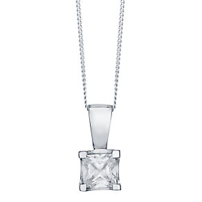 The Forever Diamond 18ct White Gold Diamond Pendant - Product number 4755693