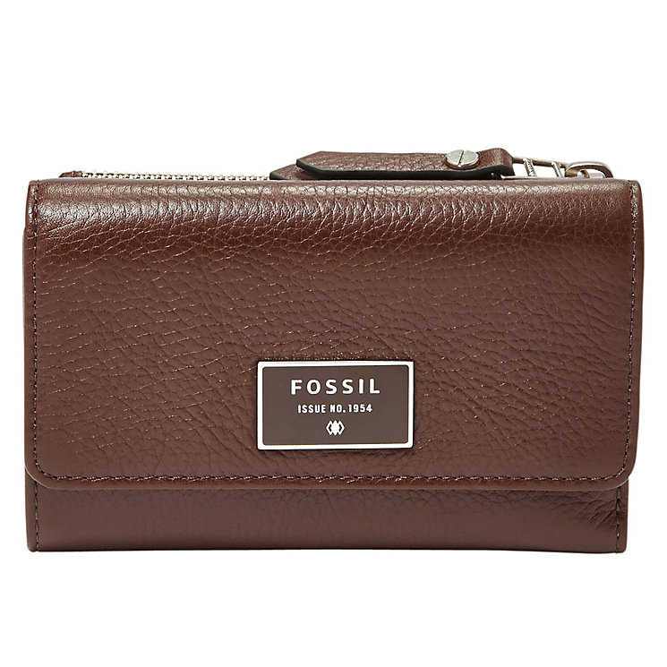 Fossil Ladies' Brown Clutch Wallet - Product number 4768620