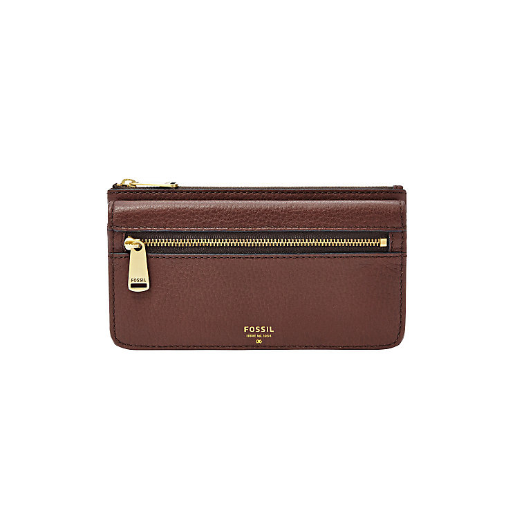 Fossil Preston Brown Flap Clutch - Product number 4768639