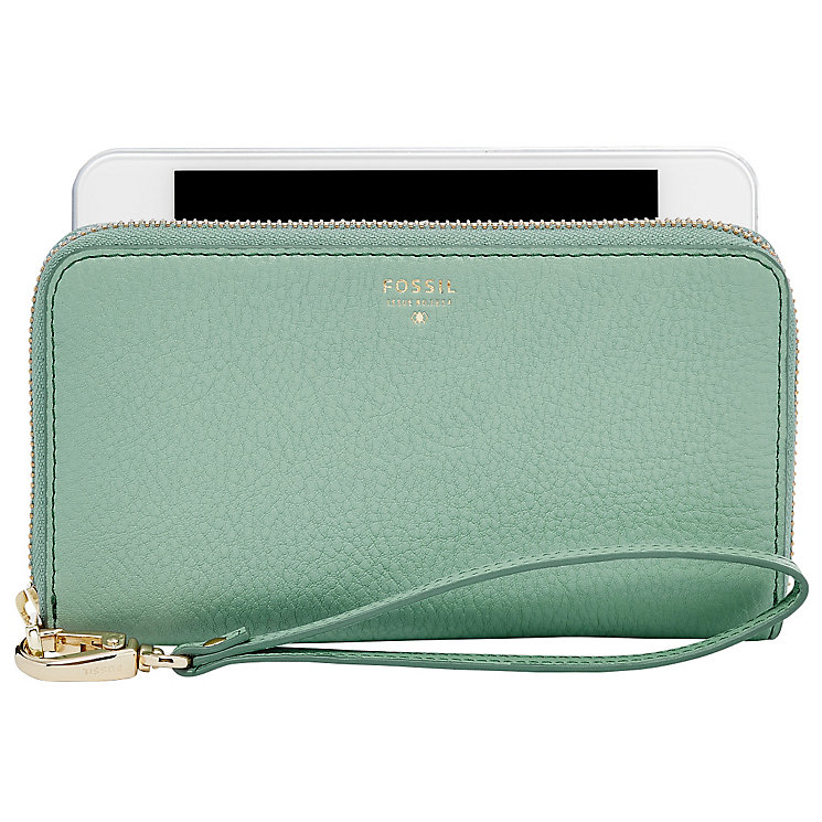 Fossil Ladies' Sea Green Wallet - Product number 4769325