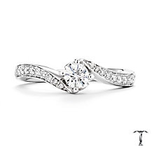 Tolkowsky 18ct White Gold 0.33ct Diamond Ring - Product number 4771524