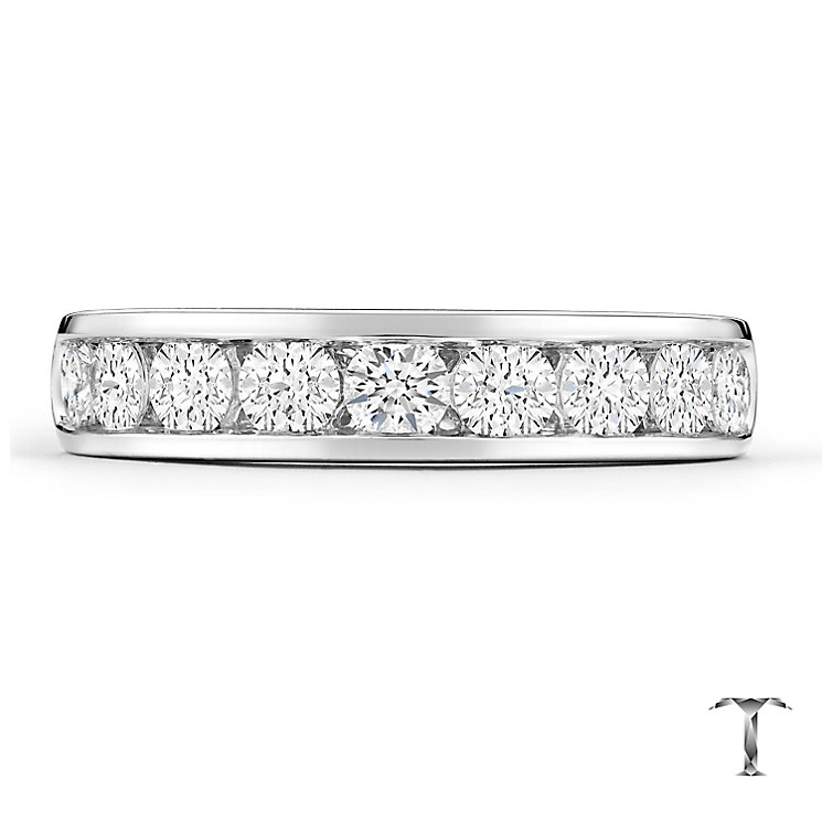 Tolkowsky 18ct White Gold 1ct Diamond Band - Product number 4771915