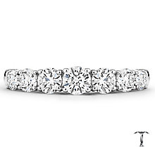 Tolkowsky 18ct White Gold 1ct Diamond 7 stone Band - Product number 4772709