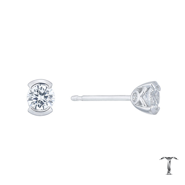 Tolkowsky 18ct White Gold 0.54ct Diamond Earrings - Product number 4773128