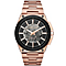 Michael Kors Wilder Men's Rose Gold Tone Bracelet Watch - Product number 4777913