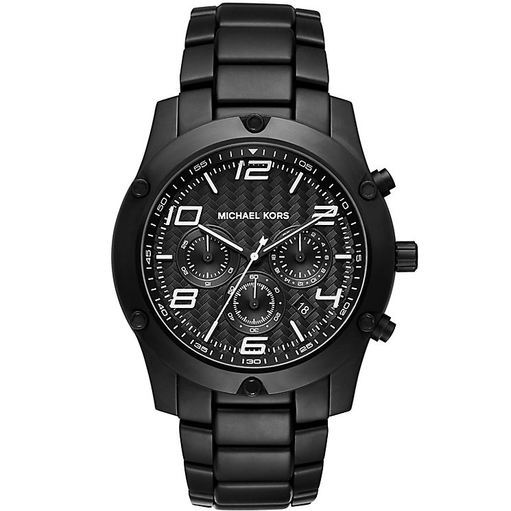 Michael Kors Caine Men's Ion Plated Bracelet Watch - Product number 4777921