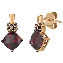Le Vian 14ct Rose Gold Rhodolite Garnet & Diamond Earrings - Product number 4788397