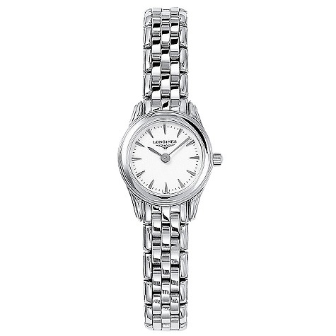 Longines Flagship ladies' stainless steel bracelet watch