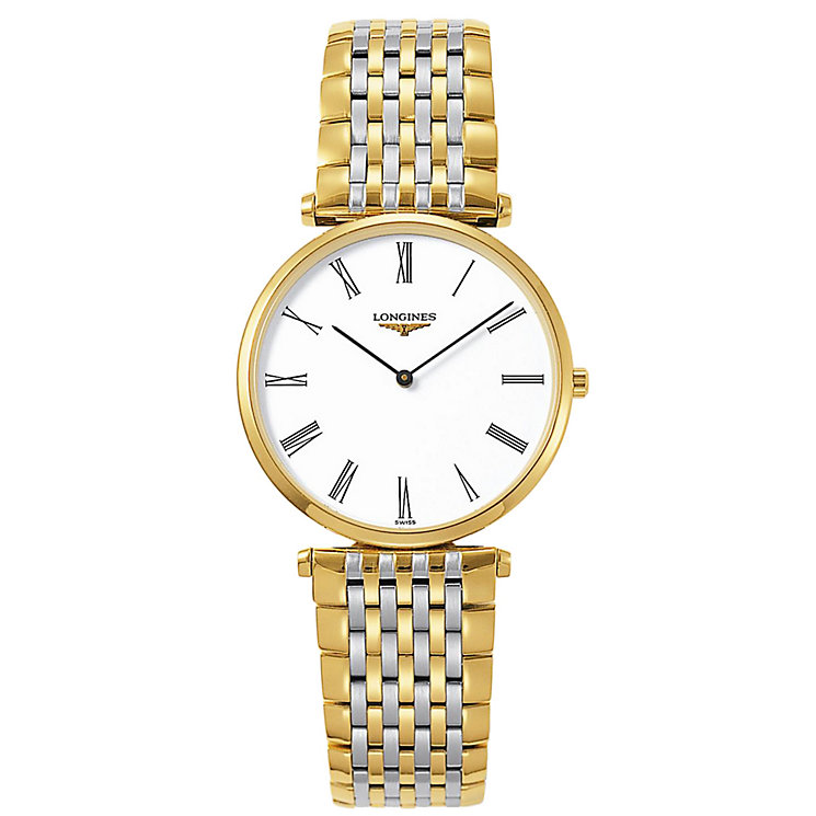 Longines La Grand Classique men's gold-plated watch - Product number 4790510
