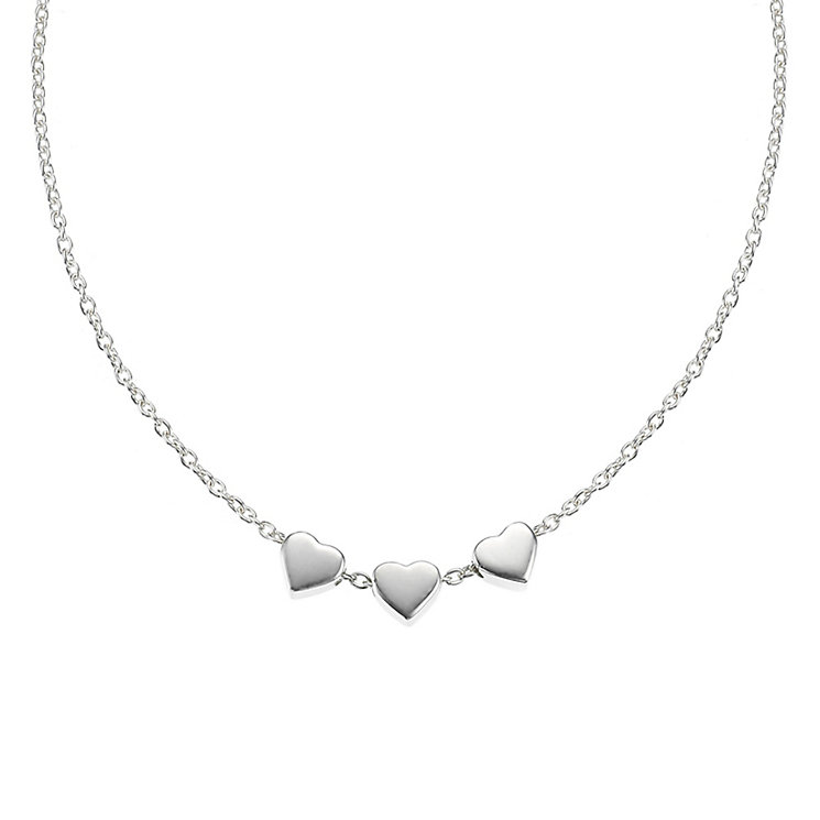 "Molly Brown Sterling Silver 16"" Heart Necklace - Product number 4797493"