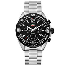 TAG Heuer F1 Men's Black Dial Stainless Steel Bracelet Watch - Product number 4797574