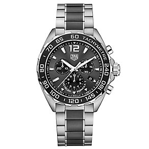 Tag Heur F1 Men's Stainless Steel Bracelet Watch - Product number 4797582