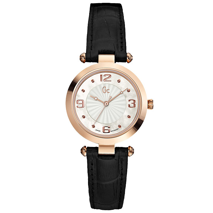 Gc Ladies' Rose Gold Tone Strap Watch - Product number 4799062