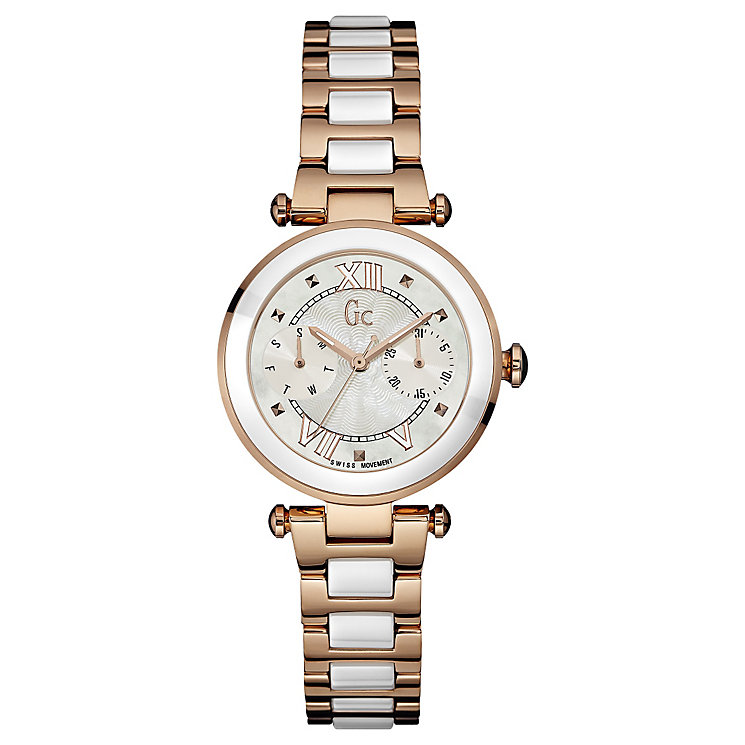 Gc Ladies' Two Colour Bracelet Watch - Product number 4799070