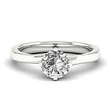 The Diamond Story 18ct White Gold 0.25ct Solitaire Ring - Product number 4801431