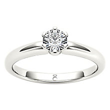 The Diamond Story 18ct Diamond Solitaire Ring - Product number 4801768