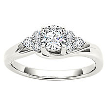 The Diamond Story 18ct White Gold 50pt Diamond Ring - Product number 4802217
