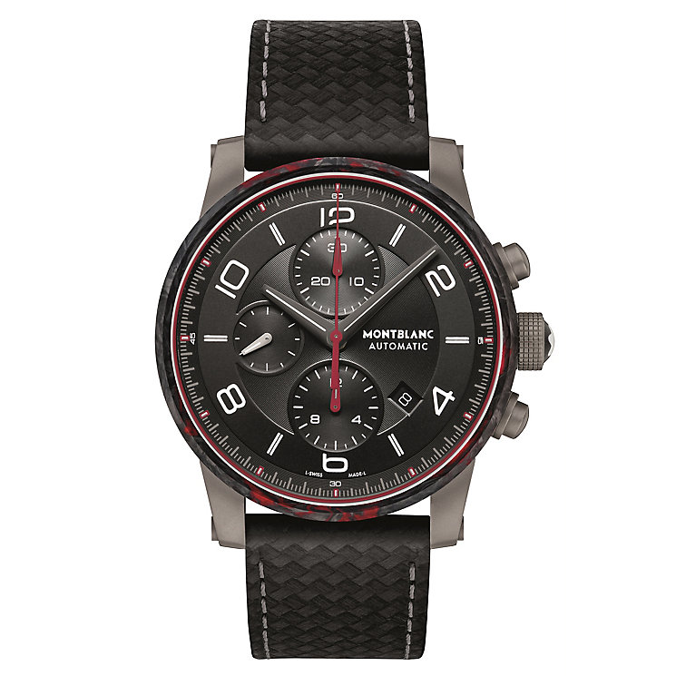Montblanc Men's Stainless Steel Strap Watch - Product number 4803949