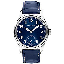 Montblanc 1858 Men's Stainless Steel Strap Watch - Product number 4803965