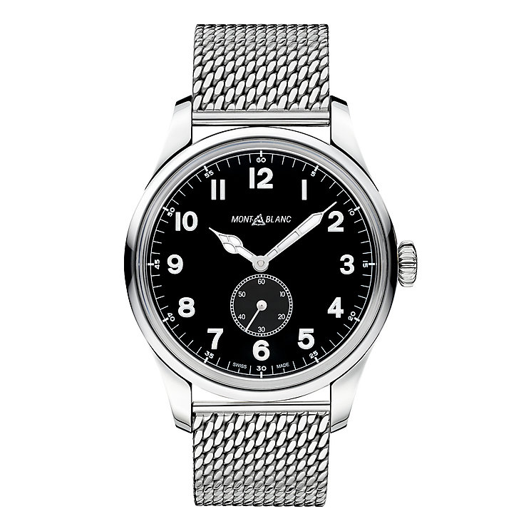Montblanc 1858 Men's Stainless Steel Strap Watch - Product number 4803981